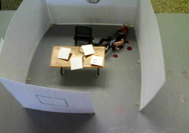 death in an office