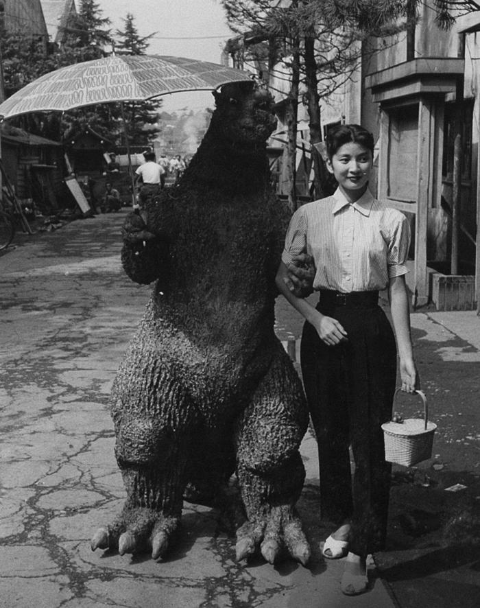 Godzilla, always a gentleman