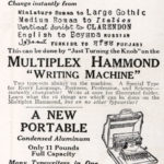 No Other Typewriter Can Do This