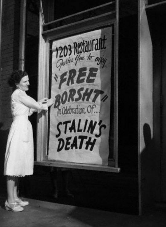 Free Borsht!